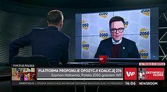 Szymon Hołownia zapytany o PO. Zaczął mówić o Claudii Schiffer