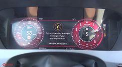 Jaguar F-Pace SVR 5.0 V8 550 KM (AT) - acceleration 0-100 km/h