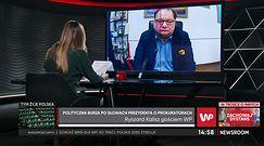 Polityczna burza po słowach prezydenta o prokuratorach. Ryszard Kalisz mówi ostro
