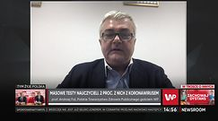 Profesor Andrzej Fal komentuje wyniku testów nauczycieli. Ekspert dostrzega wadę tego pomysłu