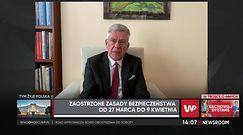 Stanisław Karczewski apeluje do lekarzy POZ, by szybciej kierowali pacjentów z COVID-19 do szpitali