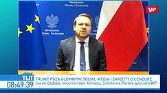 Donald Trump zablokowany na TT i FB. Jacek Ozdoba: to absolutny skandal