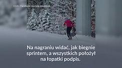 #dziejesiewsporcie: Justyna Kowalczyk i droga na obiad. Nagranie jest hitem sieci