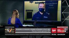 """Inspektor Mariusz Ciarka: """"Ta sprawa została wyjaśniona przez tzw. pseudoekspertów w 5 minut"""""""