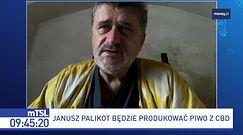 """Palikot i Wojewódzki produkują piwo. """"Za dwa tygodnie pokażemy butelkę i próbną partię"""""""
