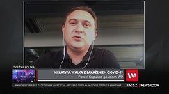"""Koronawirus. Paweł Kapusta: """"Nie ma miejsc na oddziałach, nie ma wolnych łóżek"""""""