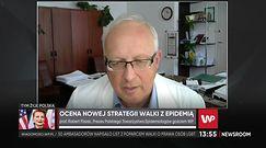 Prof. Flisiak o pacjencie z fałszywie dodatnim wynikiem testu