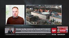 """Koronawirus w Polsce. Bartosz Fiałek: """"Bardzo ciężko pracuję nie mając ani zmiennika, ani możliwości odpoczynku"""""""