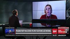 Polskie testy na COVID-19 gotowe od kwietnia. Dlaczego nie są używane? Dr Luiza Handschuh odpowiada (WIDEO)