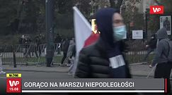 """Marsz Niepodległości. Narodowcy przeszli ulicami Warszawy. """"Rebelia"""""""
