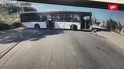 Incydent w Izraelu. Kierowcy nie było w pojeździe
