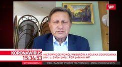 """Balcerowicz o obietnicach Dudy. """"To jest bezwstydne"""""""