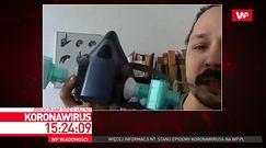 Pracownicy ASP tworzą maski dla medyków. Jakub Omalecki opowiada o akcji