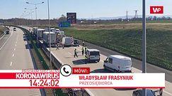 """20 godzin czekania na granicy. """"Chaos wywołany przez polską administrację"""""""