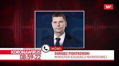 Koronawirus w Polsce: matura 2020 przesunięta? Dariusz Piontkowski o różnych scenariuszach