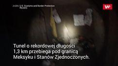 Najdłuższy tunel przemytników. Wielkie odkrycie na granicy