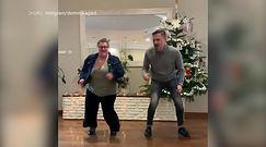 Dominika Gwit tańczy u boku Krzysztofa Ibisza