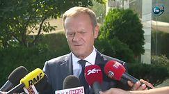 Tusk po spotkaniu z Szydło: przestrzegałem polskich polityków przed nadmiernym szarżowaniem