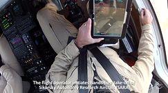 Autonomiczny śmigłowiec Sikorsky S-76 w kolejnym locie sterowanym... tabletem