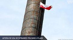 #dziejesiewpolsce: afera w USA w sprawie polskiej flagi