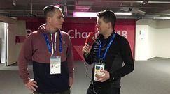 Patryk Serwański: Konkurs na skoczni normalnej był absurdalny dziwny i nie przystający do igrzysk