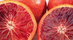 Czerwone pomarańcze w Lidlu
