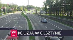 Groźny wypadek w Olsztynie