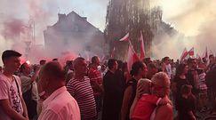 ONR na ulicach Warszawy. Marsz Powstania Warszawskiego