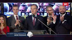 Wyniki wyborów 2019. Robert Winnicki ostro o TVP