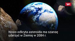 Zbliża się do Ziemi. ESA wpisała ją na listę zagrożeń