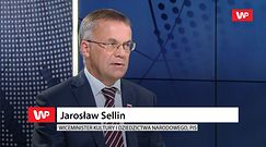 Jarosław Sellin broni Marka Kuchcińskiego. Ma teorię