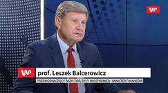 Balcerowicz o tłumaczeniach Piotrowicza ws. lotów z Kuchcińskim. Ostro