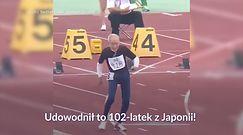 #dziejesiewsporcie: niesamowity wyczyn 102-latka z Japonii