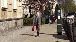 Barczysta Maja Sablewska kolejny raz chwali się nogami