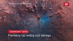 """""""Zraniony"""" Mars. Naukowcy twierdzą, że widzą coś takiego po raz pierwszy"""