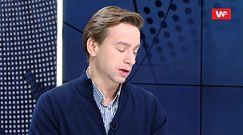 """Krzysztof Bosak o spaleniu flagi UE. """"Sposób na wyrażenie opinii"""""""