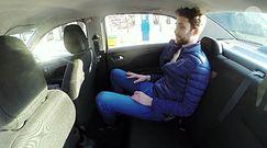 Pan Wacław jest najstarszym taksówkarzem w Polsce