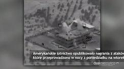 Nagranie amerykańskich nalotów na pozycje ISIL