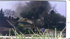 Samolot spadł na dom w Kolorado