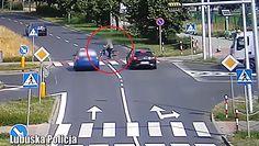 Potrącenia w Zielonej Górze. Dwa wypadki na jednym skrzyżowaniu