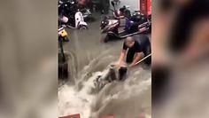 Tragedia w chińskim metrze. Dramatyczne nagrania świadków