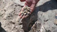 Skarbnica pełna złotych monet. Odkrycie izraelskich nastolatków