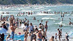 Rekord temperatury w Morzu Bałtyckim. Ryzyko zamknięcia kąpielisk