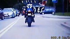 20 wykroczeń na motocyklu. Policja publikuje nagranie