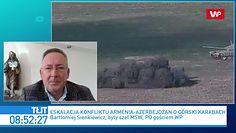 Armenia vs Azerbejdżan - wojna o Górski Karabach. Bartłomiej Sienkiewicz o skutkach dla Polski