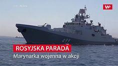 Rosja prezentuje gotowość bojową. Parada i obietnice z okazji Dnia Marynarki Wojennej