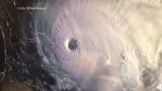 Prosto w oko huraganu. Nagranie z kokpitu