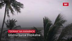 """""""Dorian"""" na Karaibach"""
