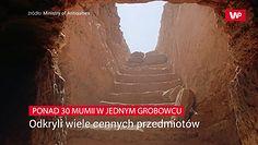 30 mumii starożytnych Egipcjan. Wśród nich ciała dzieci