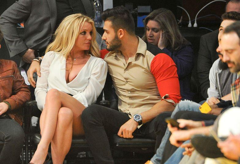 Britney i Sam nie mogli oderwać od siebie oczu